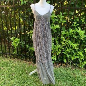 Zara Boho Maxi Dress Size Medium